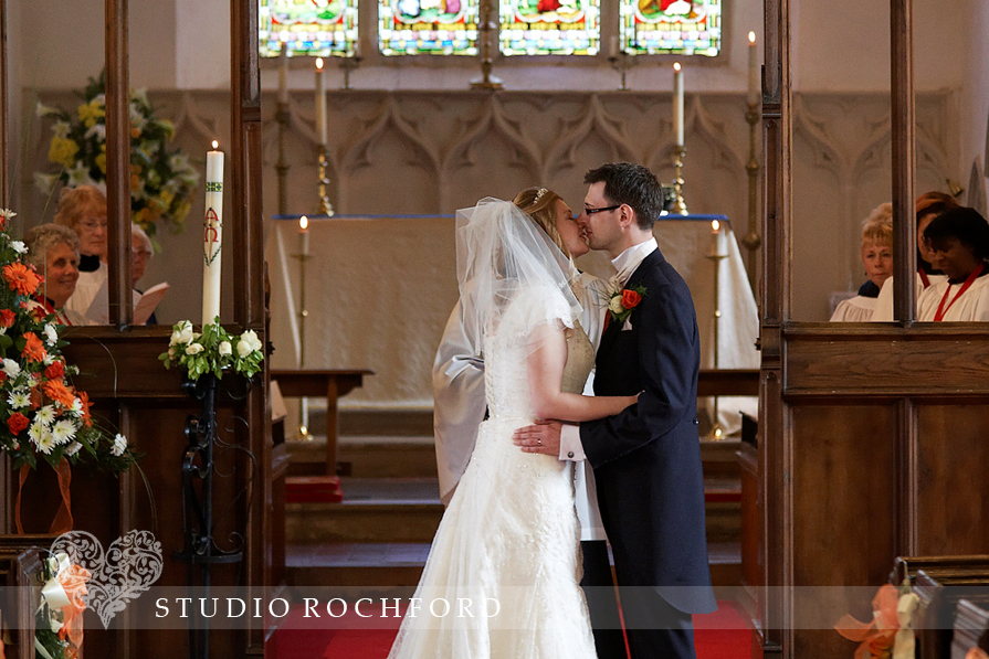 St Giles Church Orsett Wedding