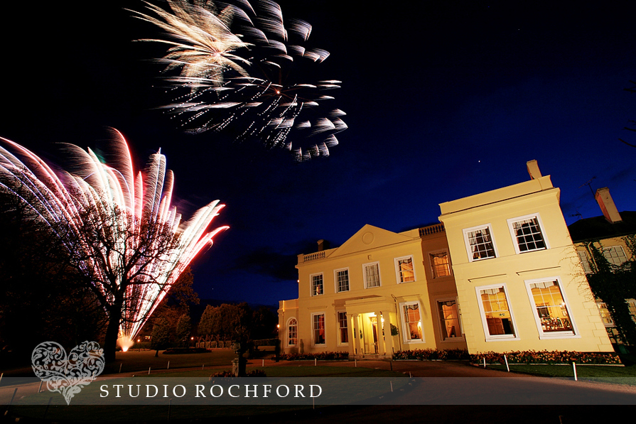 Fireworks at The Lawn Rochford